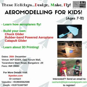 AEROMODELLING FOR KIDS