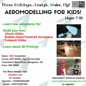 AEROMODELLING FOR KIDS