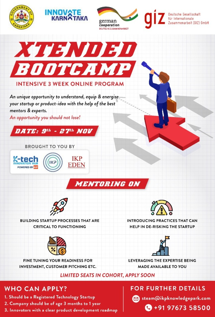 xTended Bootcamp 2020 November